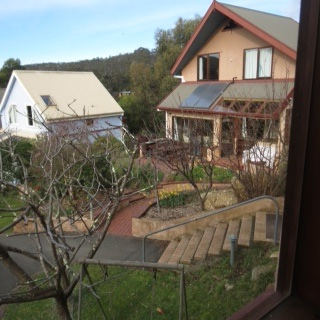 Beautiful and rustic homes in the Cohousing Community