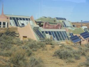 Earthship Houses in Taos, New Mexico