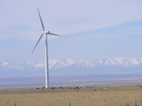 Wind Turbine in Montana