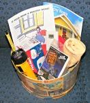 Radon test, CO alarm, Humidistat, Flashlight, Tape measure, Microfiber cloth,